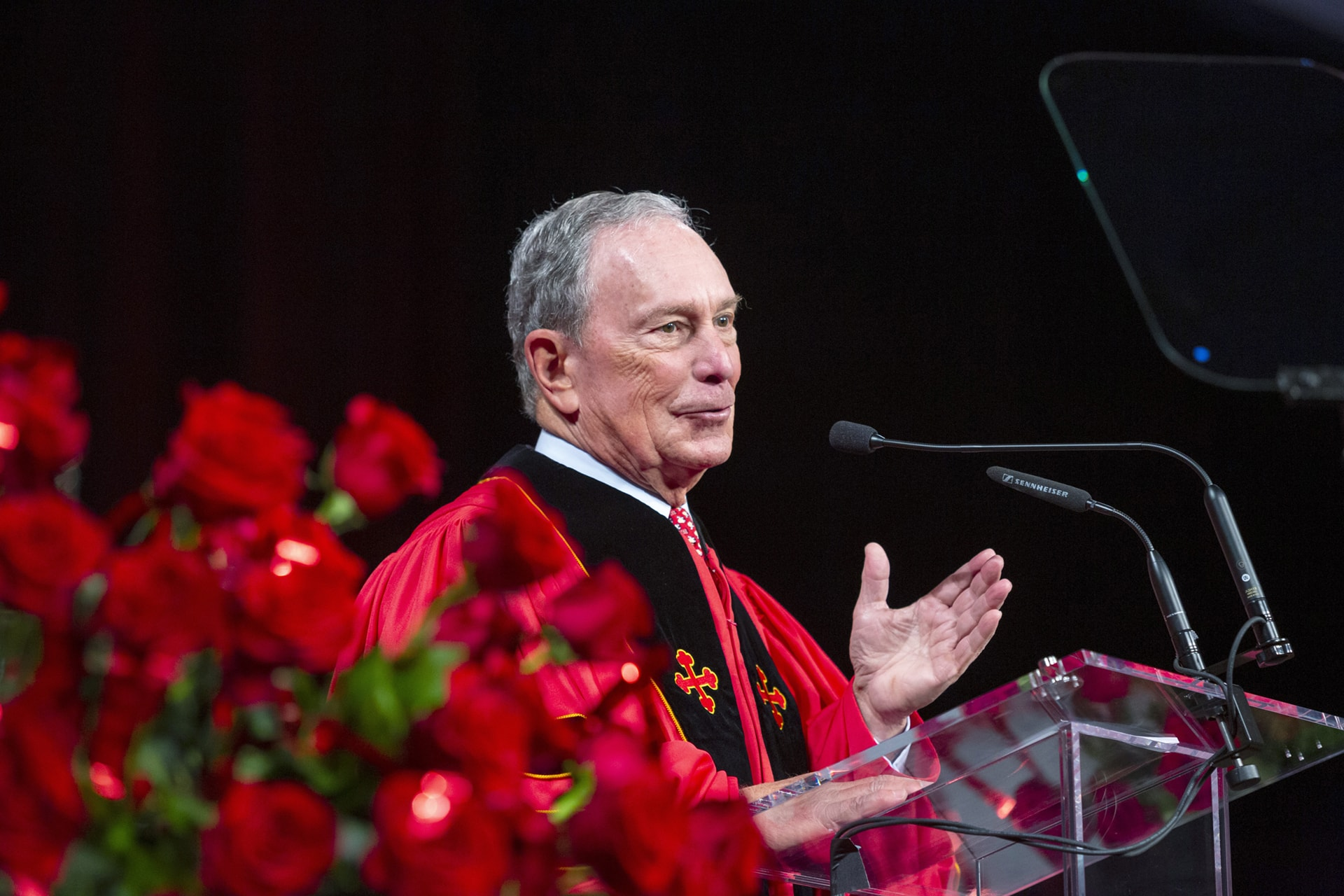 Bloomberg at 2019 Spring Commencement
