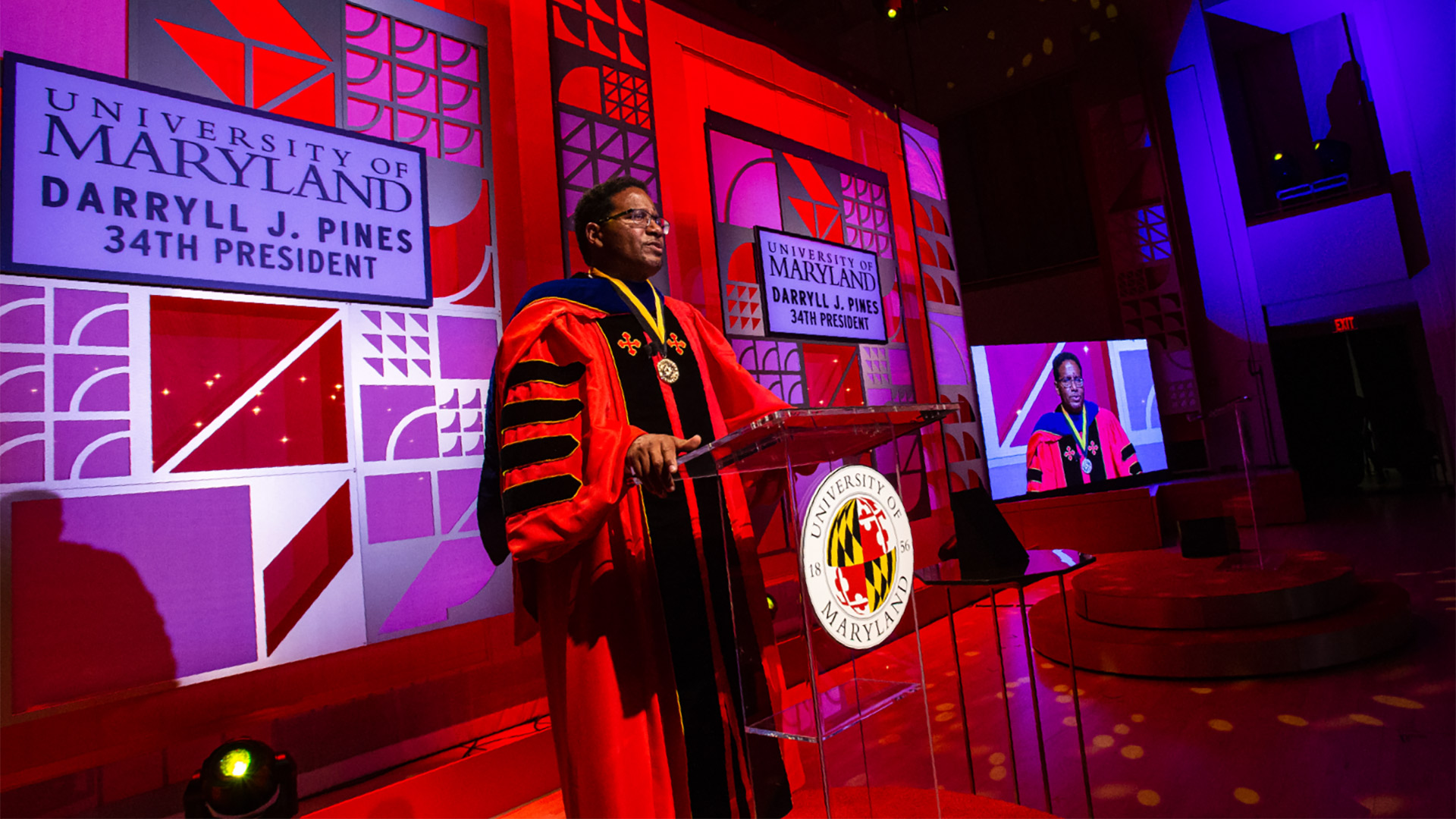 President Darryll Pines Presents His Vision and Bold Actions for UMD