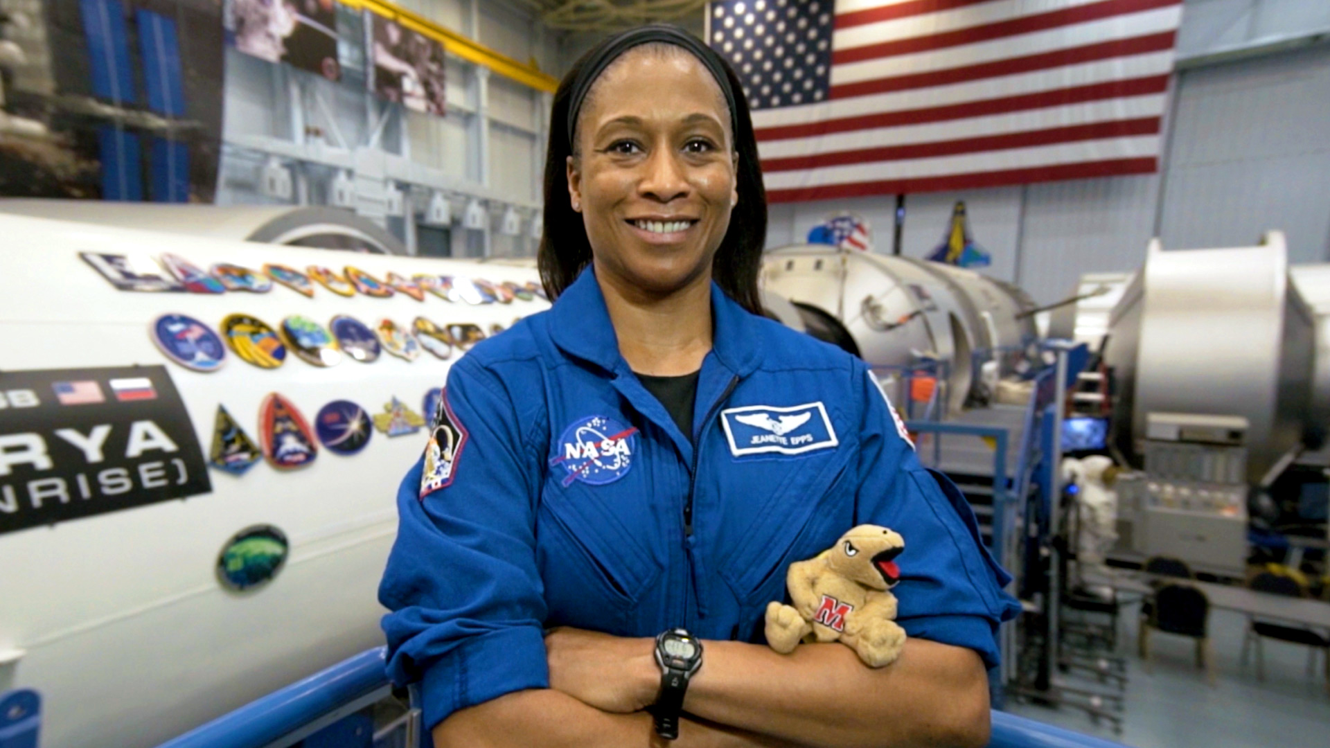 UMD Engineering Grad Joins Space Station Crew