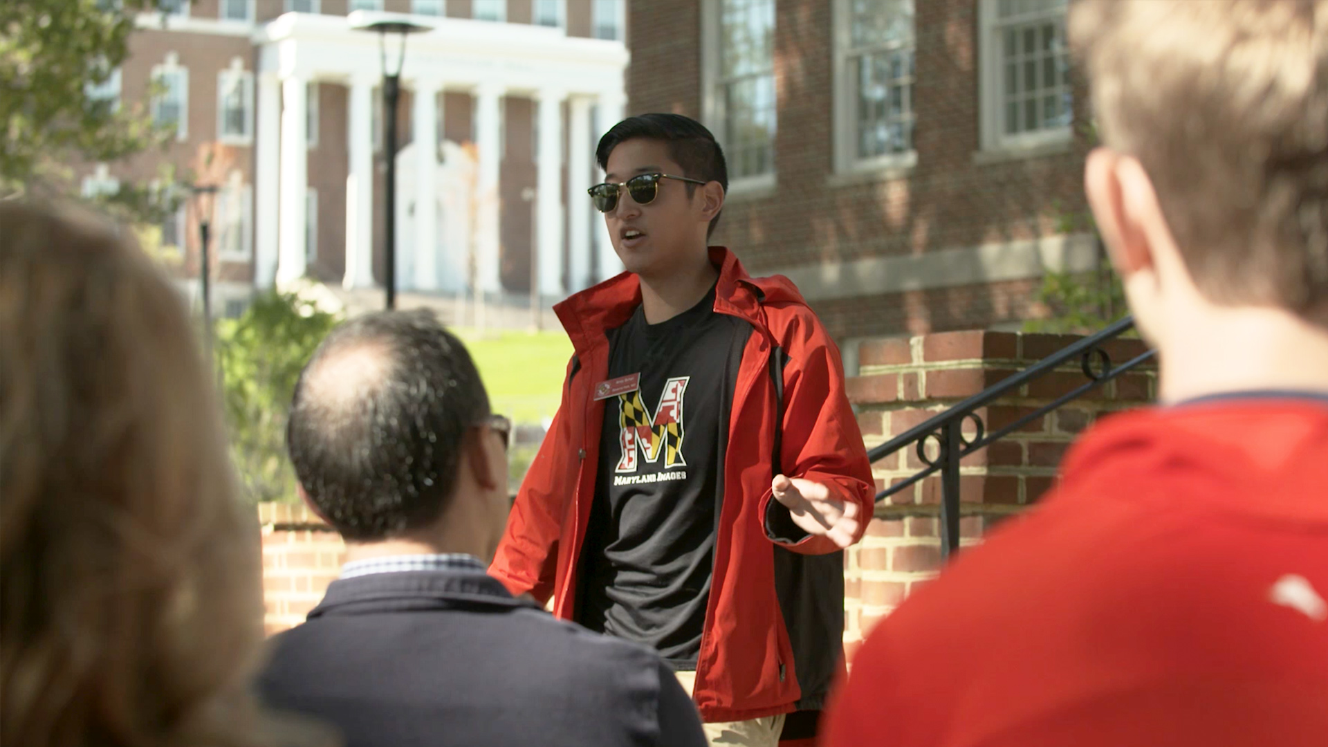 UMD Student Shares Story of Strength in the Face of Injury
