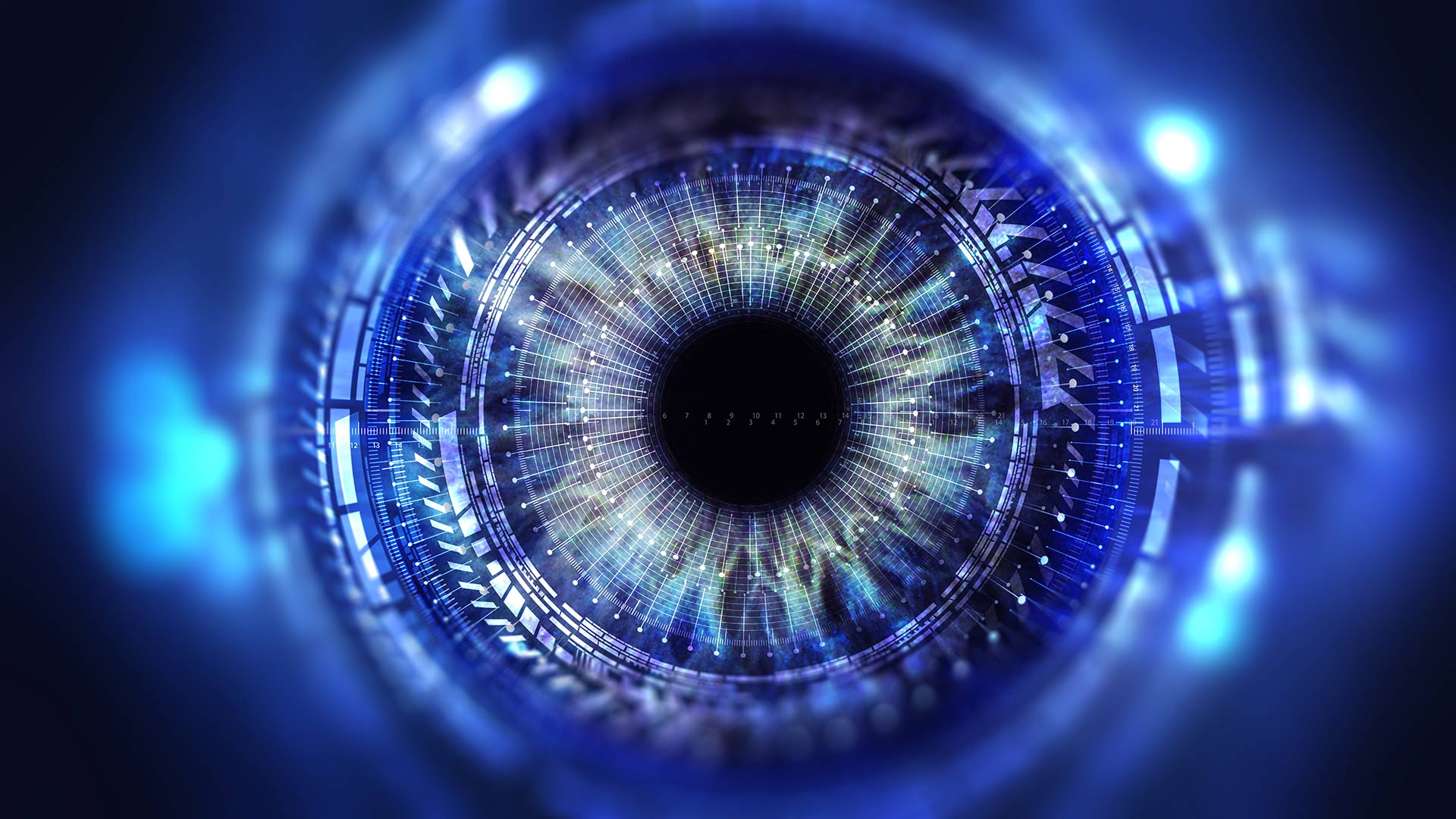 A. James Clark School of Engineering researchers have developed new microscopy technique could allow doctors to perform LASIK using precise measurements of how the eye focuses light. (Photo by iStock)