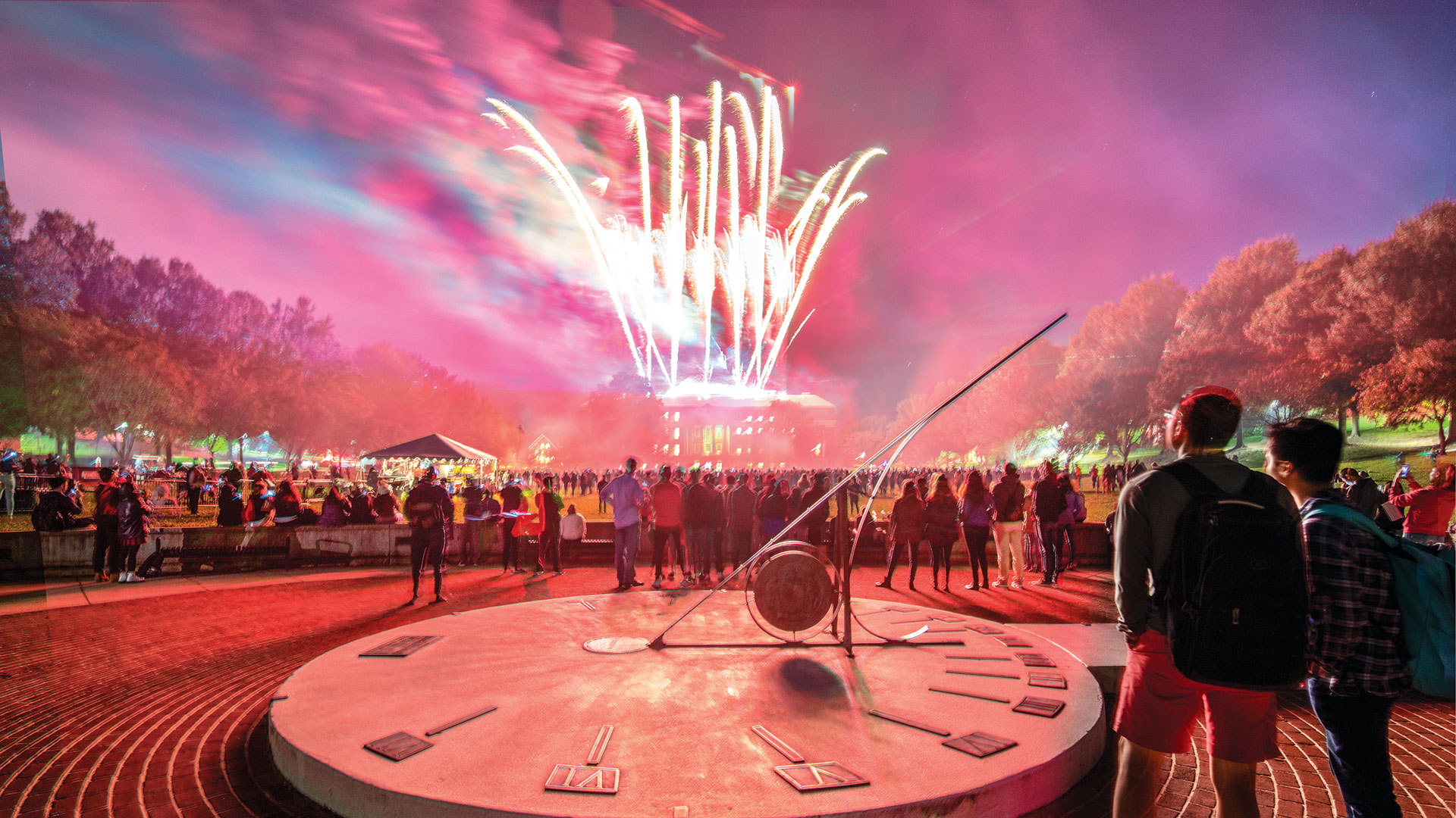 Terp Carnival Fireworks