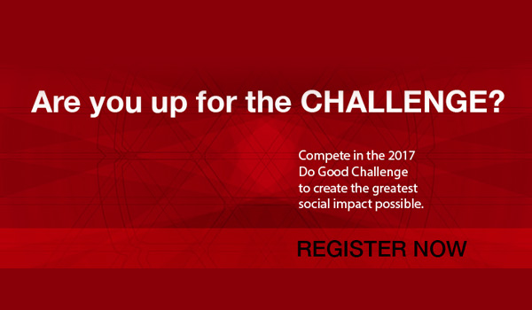 Do Good Challenge Registration